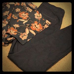 Maurices Skinny Ankle Trouser
